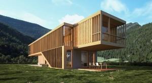 Patikima ir lengva namo konstrukcija